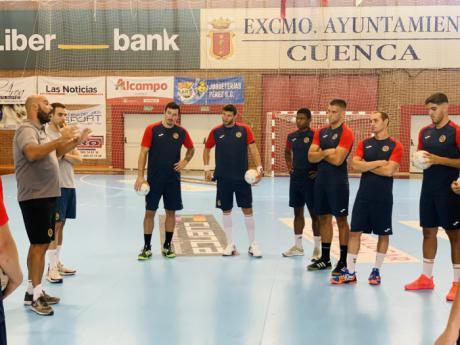 El Incarlopsa Cuenca comienza los entrenamientos con 14 jugadores