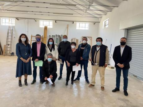 El Programa RECUAL de Motilla del Palancar ha permitido continuar con las obras de rehabilitación del silo