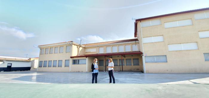 Educación mejora la eficiencia energética del colegio de Campillo de Altobuey