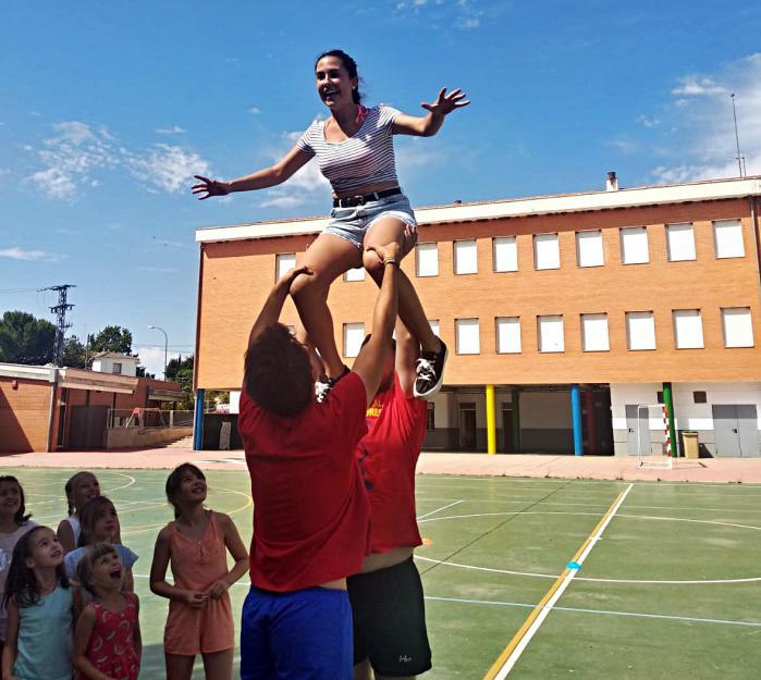A Palos participa en la escuela de verano de Arcas