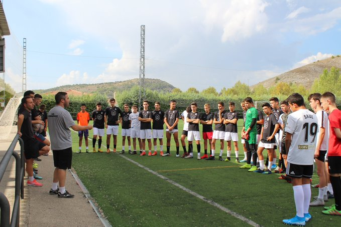 La nueva temporada de la Escuela de Fútbol Base de la Unión Balompédica Conquense ya está en marcha