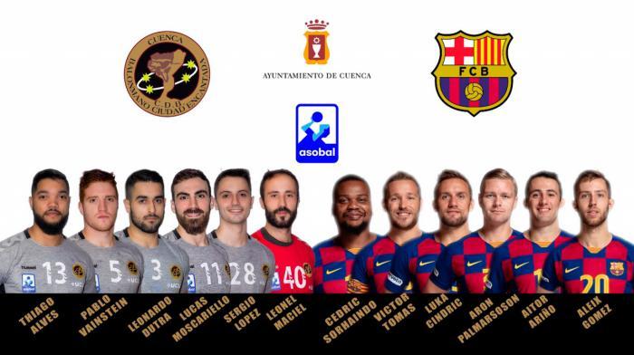 Supercopa ASOBAL 2019 | El Liberbank Cuenca espera dar la sorpresa en la Supercopa ASOBAL