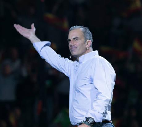 Ortega Smith hace precampaña en Cuenca este viernes