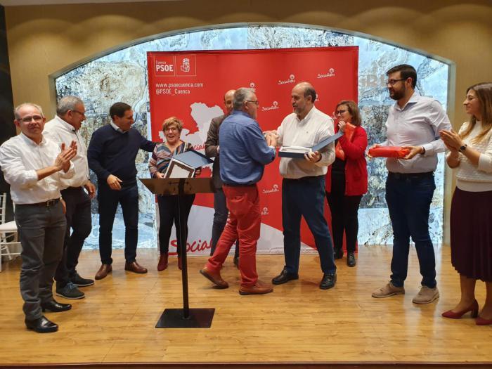 """El PSOE de Cuenca destaca el trabajo de su militancia en un año """"como primera fuerza todos los procesos electorales"""""""
