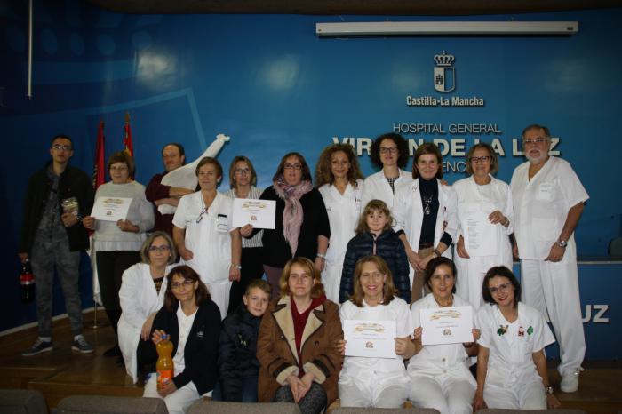 La Unidad de Media Estancia de Salud Mental, ganadora un año más del Concurso de Belenes de la Gerencia del Área Integrada de Cuenca