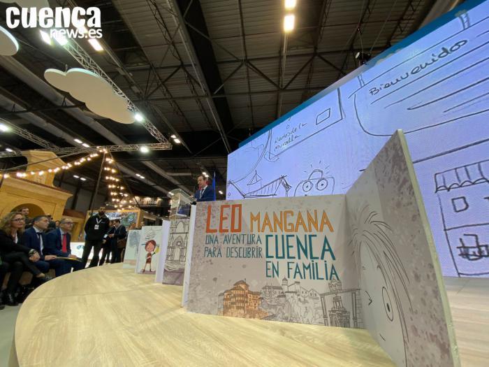 Leo Mangana, un nuevo personaje infantil para impulsar el turismo familiar en la capital