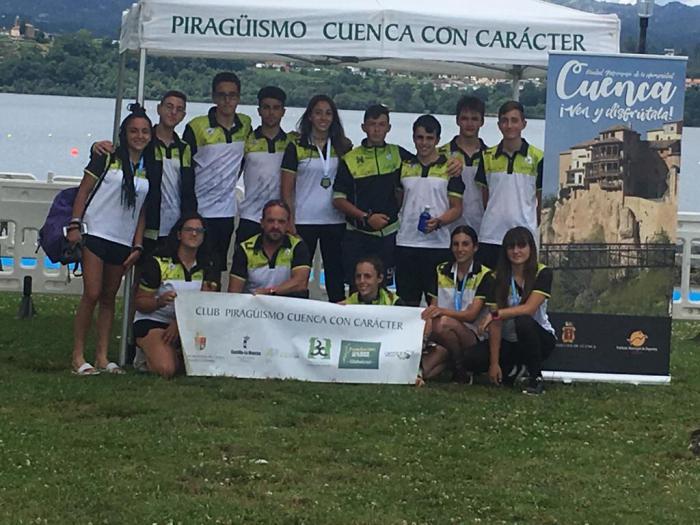 Brillante participación del Club Piragüismo Cuenca con Carácter en la III Copa de España de Maratón