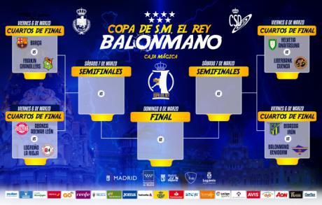 Sorteo generoso con el Liberbank Cuenca en la Fase Final de la Copa del Rey