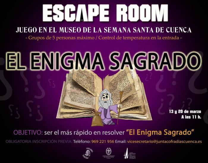 El Museo de Semana Santa, escenario del primer escape room dedicado a la Semana Santa de Cuenca