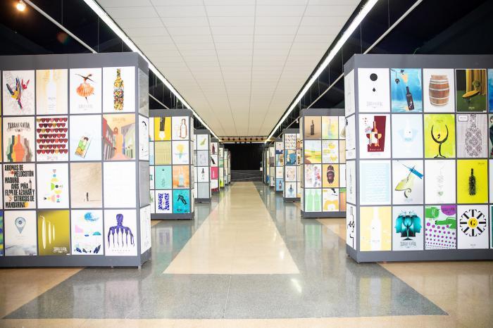 Diseñadores gráficos conquenses exhiben sus obras en la Estación Marítima de Vigo