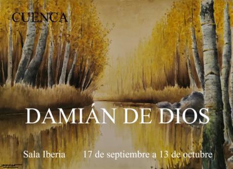 """La Sala Iberia acoge la exposición """"Cuenca"""" del artista Damián de Dios protagonizada por paisajes de la ciudad"""