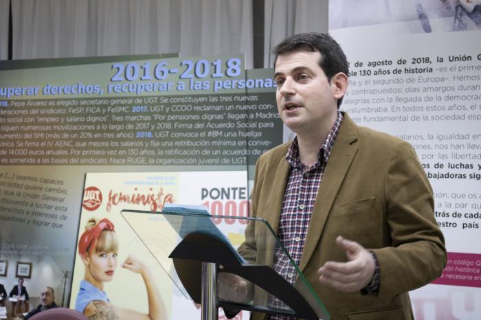 José Azcoitia, secretario general de UGT Cuenca