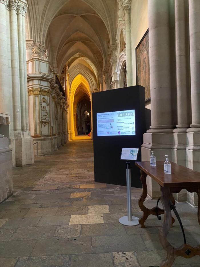 Primera misa con fieles en la Catedral desde el inicio de la pandemia