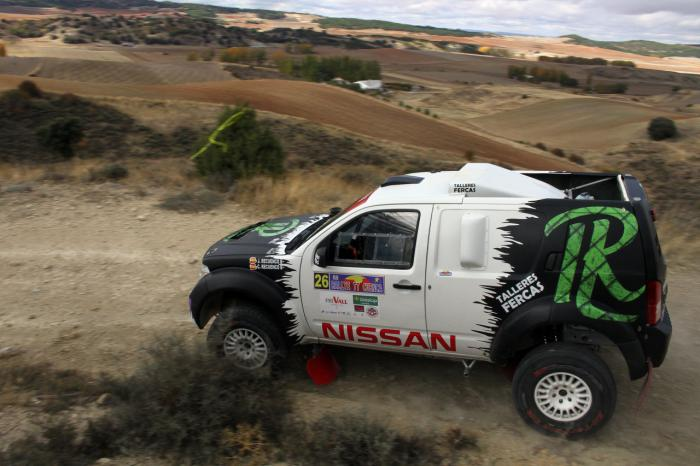 Luis Recuenco vence en el primer sector selectivo del Rally TT de Cuenca