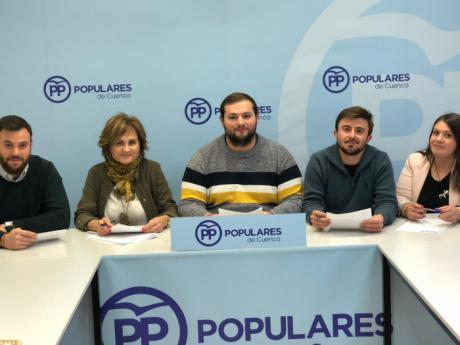 El arguisuelense Daniel García presenta su candidatura a presidir Nuevas Generaciones Serranía de Cuenca