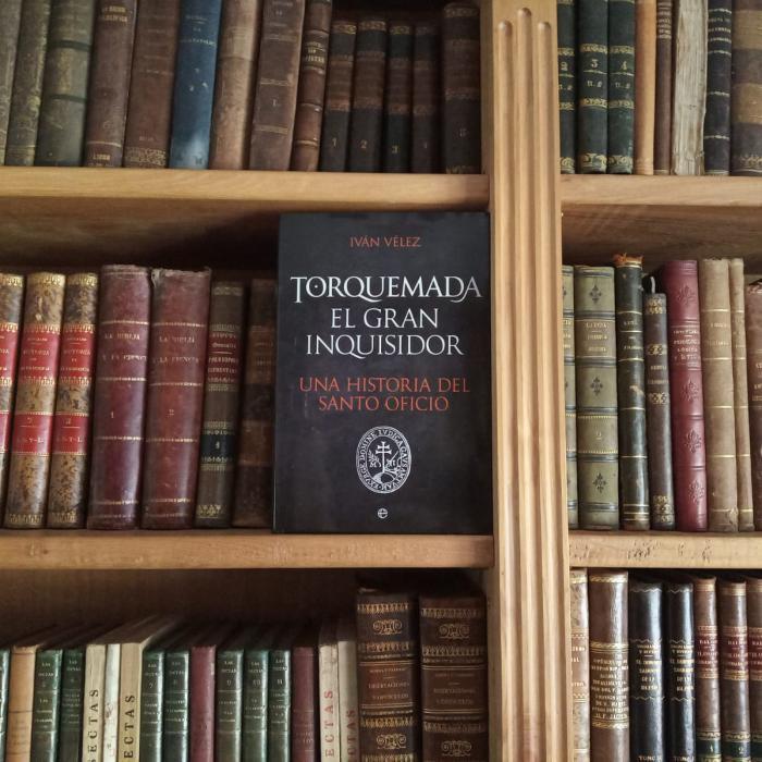'Torquemada. El gran inquisidor', nuevo libro del escritor conquense Iván Vélez