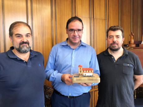 La Agrupación de Modelismo Ferroviario agradece a la Diputación su apoyo y apuesta por el patrimonio ferroviario