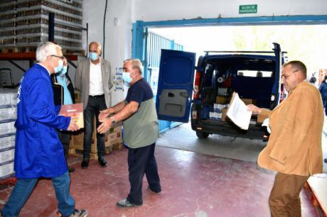 Cuenca inicia la segunda fase de distribución de alimentos a personas desfavorecidas, dentro del Programa de Ayuda Alimentaria 2021
