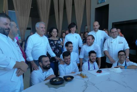 """José Francisco Atienza, de Tarancón, gana el III concurso de gastronomía para cocineros profesionales """"Cuenca Abstracta"""""""