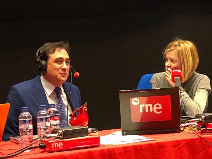 Mariscal habla de las excelencias de Cuenca y las Ciudades Patrimonio en el programa 'No es un Día Cualquiera'