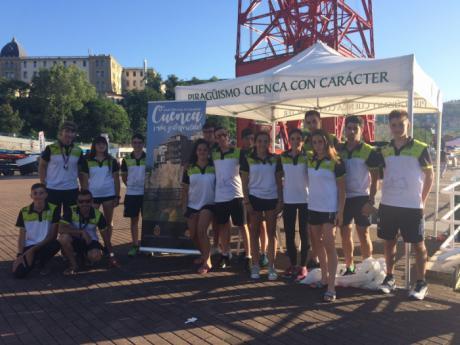El Cuenca con Carácter regresa de Bilbao con 3 medallas y un 7º puesto por equipos.