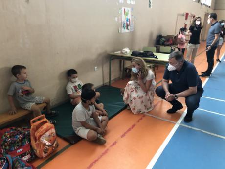 La Escuela Municipal de Verano refresca el verano a unos 180 menores, facilitando la conciliación familiar durante el periodo vacacional