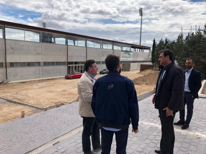 Los obras en La Fuensanta se retrasan cuatro semanas más