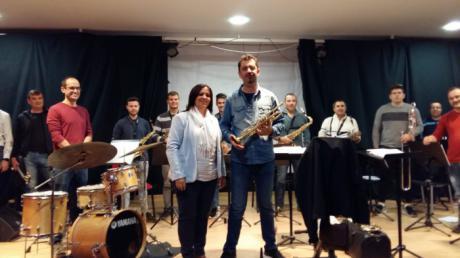La Escuela Municipal de Música acogio el primer ensayo de la Asociación 'Patrimonio Musical'