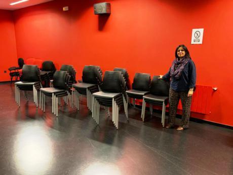 La Escuela Municipal de Música y Artes Escénicas dispone de nuevo material destinado al salón de actos