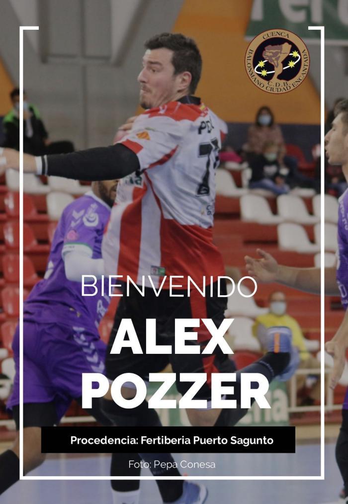 Alex Pozzer, nuevo fichaje del Incarlopsa Cuenca