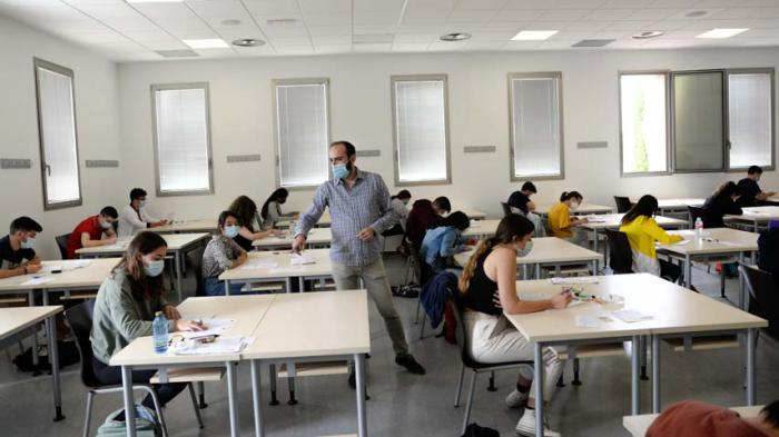 Comienza la EvAU extraordinaria en el campus conquense