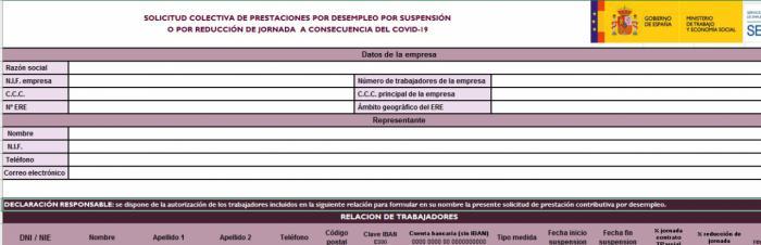 CEOE CEPYME indica el modo de presentar la prestación en nombre de los trabajadores