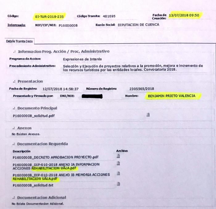 La Diputación de Cuenca no solicitó fondos europeos para la hospedería de San Clemente