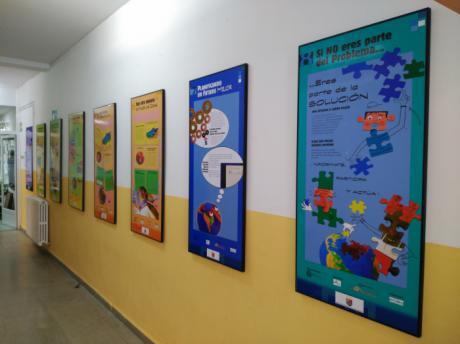 Diputación pone a disposición de Ayuntamientos y centros educativos una decena de exposiciones de medio ambiente