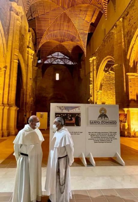 La exposición 'En la mesa con Santo Domingo' se despide desde Villaescusa de Haro de la provincia este fin de semana