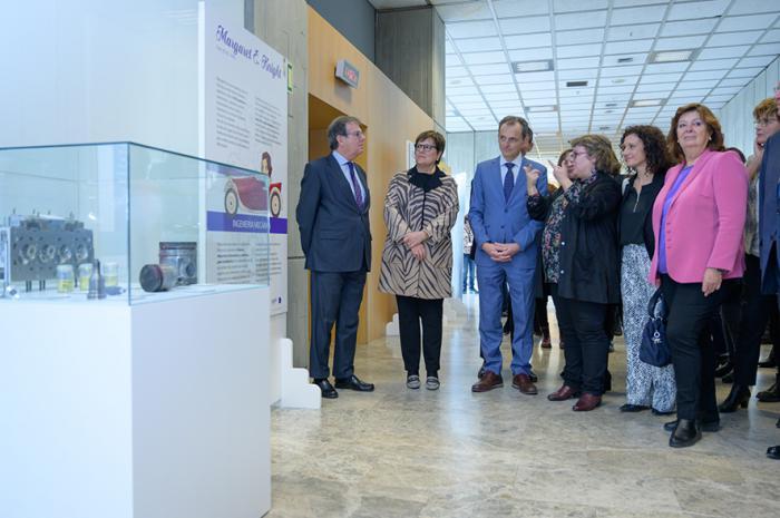 La exposición 'Mujeres ingeniosas' de la UCLM llega al Ministerio de Ciencia, Innovación y Universidades