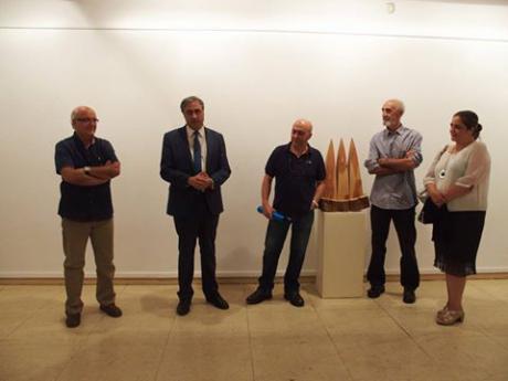 Mariscal inauguró la exposición de Vicente Marín en el Centro Cultural Aguirre dentro del programa 'Excelencia'
