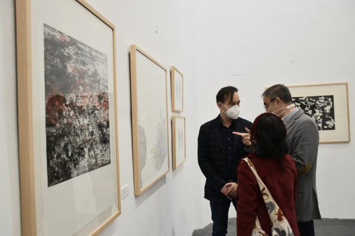 La Fundación Antonio Pérez acoge en la sede de la capital Panorámica, una exposición colectiva de 24 artistas