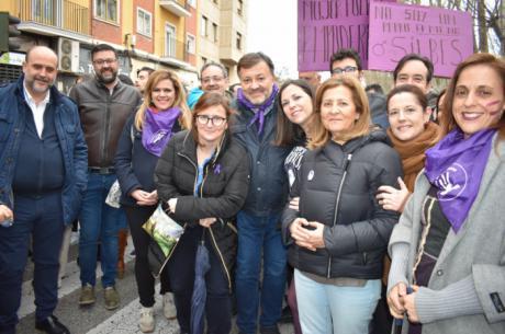 """El PSOE de Cuenca secunda la manifestación del 8M """"para no dar ni un paso atrás en materia de igualdad"""""""