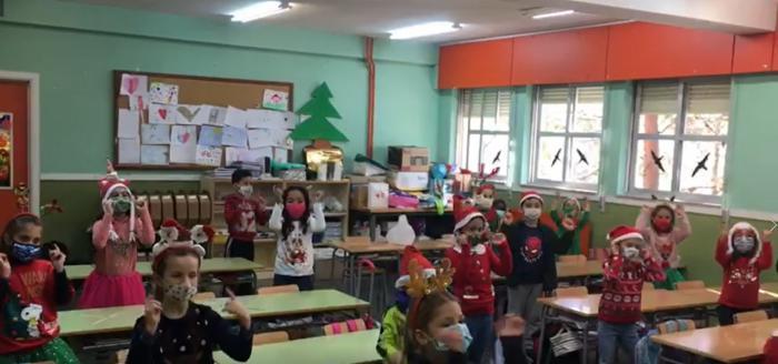 """El colegio de """"San Fernando"""" celebró la llegada de la Navidad con FestiNavidad 20 edición especial virtual"""