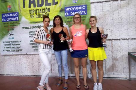El VI Torneo de Pádel San Gil Abad de Motilla del Palancar reunió a 24 parejas