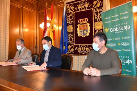 La Diputación y Fundación Globalcaja firman un convenio de colaboración para sacar adelante el Circuito de Retos Virtuales