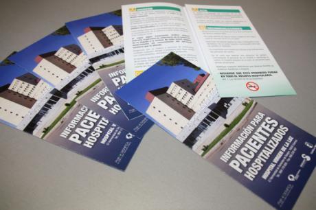 """Se editan 10.000 folletos informativos para los pacientes hospitalizados en el """"Virgen de la Luz"""""""