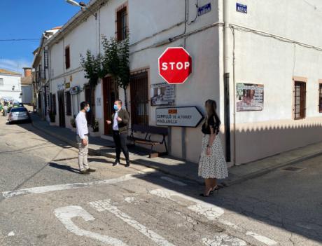 La Junta acometerá obras de mejora en la CM-211 a su paso por la localidad de Almodóvar del Pinar