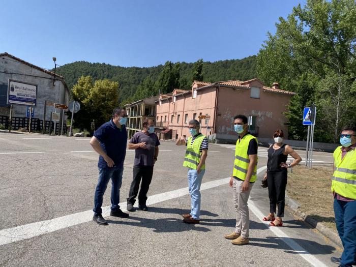 Se acometen obras de adecuación y mejora de los accesos en Puente de Vadillos