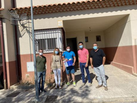 Entregada una vivienda de protección oficial en La Alberca de Zancara