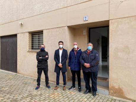Se entrega una vivienda de protección oficial en Villamayor de Santiago