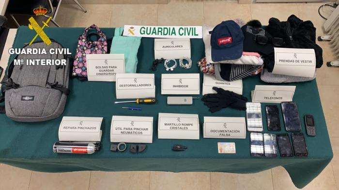 Detenidas cuatro personas en Tarancón por delitos de falsedad documental, contra la seguridad del tráfico y tentativa de hurto