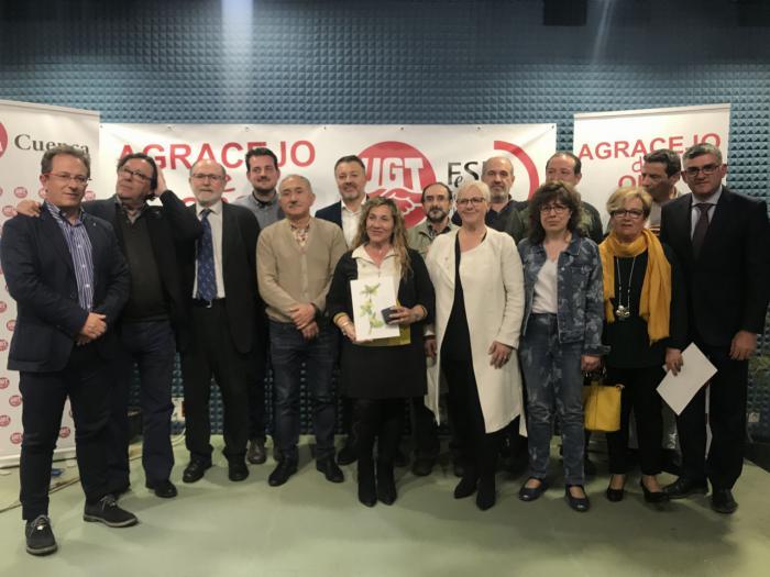 UGT reconoce con el premio Agracejo de Oro a los más de 3.000 profesionales que trabajan en la prevención y la extinción de incendios