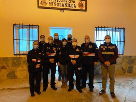 La Agrupación de Protección Civil de Minglanilla recibe nuevo material de emergencias